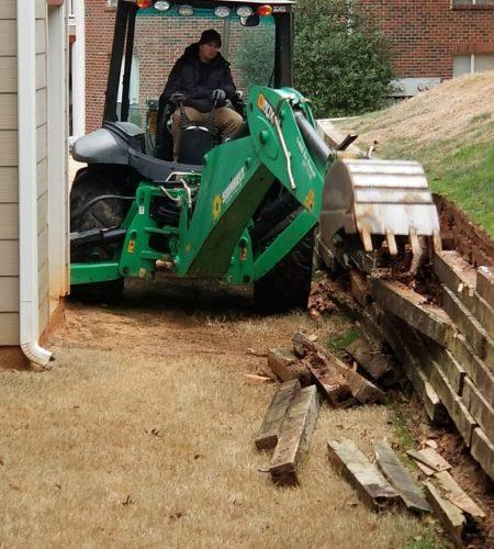 Retaining Wall Construction