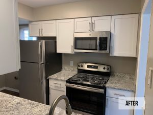 Apartment update remodel CRM of Raleigh NC